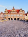 Green Gate in Gdansk, Poland Stock Photo