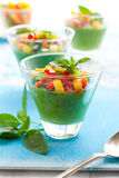 Green Gazpacho Royalty Free Stock Images