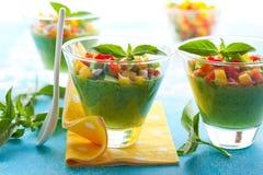 Green Gazpacho Royalty Free Stock Image