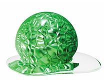 Green gel Stock Photo