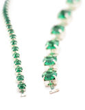 Green gem Royalty Free Stock Photography