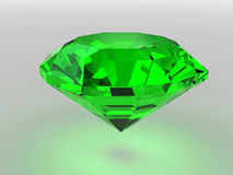 Green gemstone Stock Images