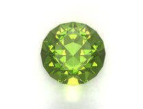 Green gemstone Stock Image