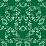 Green gentle seamless pattern Royalty Free Stock Photo
