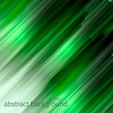 Green geometric abstract background. With rhombus. vector illustration Stock Image