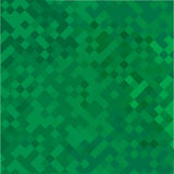 Green geometric abstract background. Vector Royalty Free Stock Images