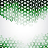 Mosaic green background Stock Photography