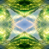 Green_geometric_background Royalty Free Stock Images