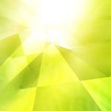 Green geometric background Stock Photo