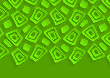 Green geometric pattern abstract background template Stock Photography