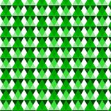 Green geometric vector pattern Royalty Free Stock Photos