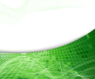 Green geometrical background Royalty Free Stock Photo