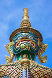 Green giant statue at Wat Phra Kaew, Thailand Royalty Free Stock Images