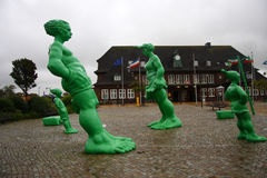 Green Giants Sylt Royalty Free Stock Photo