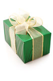Green gift Royalty Free Stock Photos