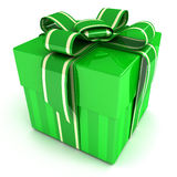 Green gift Stock Photography