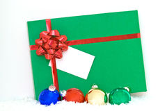 Green gift Stock Photos