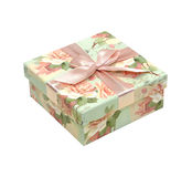 Green gift Royalty Free Stock Images