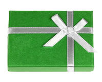 Green gift box Royalty Free Stock Photo