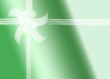 Green gift Stock Image