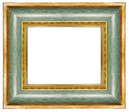 Green gilded  frame Royalty Free Stock Photos