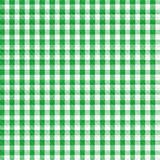 Green Gingham Royalty Free Stock Image