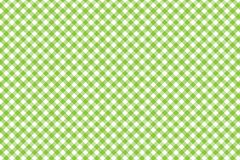 Green Gingham pattern. Texture from rhombus/squares for - plaid, tablecloths, clothes, shirts, dresses, paper, bedding, blankets,. Quilts and other textile royalty free illustration