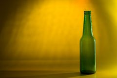 Green Glass Stock Image
