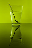 Green glass Stock Photography
