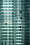 Green Glass. Modern apartment building green glass facade Stock Photography
