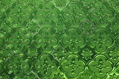 Green glass Stock Photos