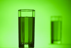 Green glass Royalty Free Stock Photography