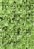 Green glass. Abstract illustration of a green background Stock Images