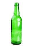 Green and glass bottle Royalty Free Stock Photography
