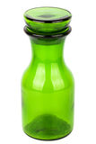 Green glass chemical bottle Stock Photography
