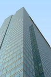 Green glass modern office building Royalty Free Stock Photography