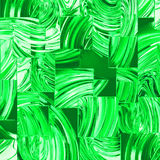 Green glass squares Royalty Free Stock Photography