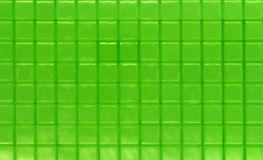 Green Glass Squares Stock Image