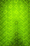 Green glass tiles. Background block brick Stock Images