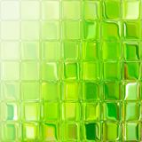 Green glass tiles Stock Photo