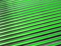 Green glass tube heap, solar panel details, Stock Image