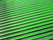 Green glass tube heap, solar panel details, Stock Image