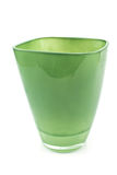 Green glass vase Stock Image