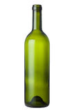 green glass wine bottle Royalty Free Stock Image