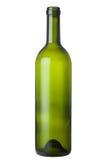 green glass wine bottle Royalty Free Stock Image