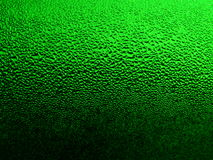 Free Green Glass With Drops 2 Stock Photography - 4983252