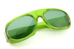 Green glasses Royalty Free Stock Photos