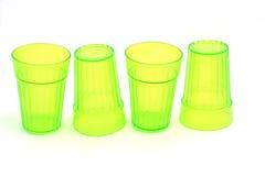 Green glasses Stock Photo