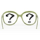 Green glasses Stock Photos
