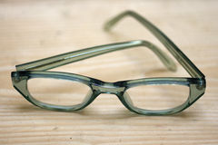 Green glasses Royalty Free Stock Image
